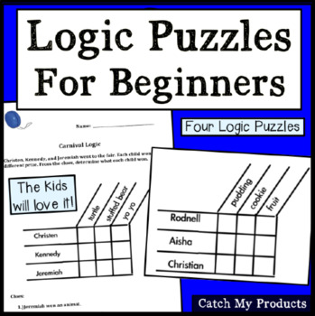 Logic Puzzles to Challenge the Bright Beginner Problem Solver