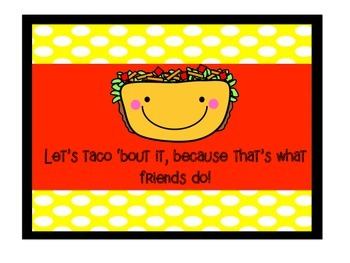Let's Taco 'Bout It!