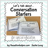 Let's Talk About... {Visual Conversation Starters for Spec