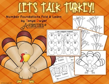 Let's Talk Turkey {Number Foundations Fold & Learn}