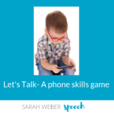 Let's Talk- a phone skills game