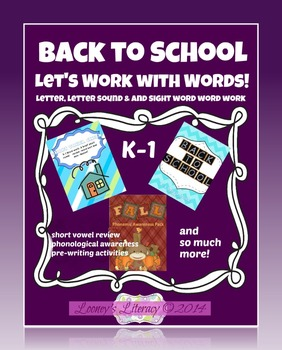 Lets Work on Word Work!