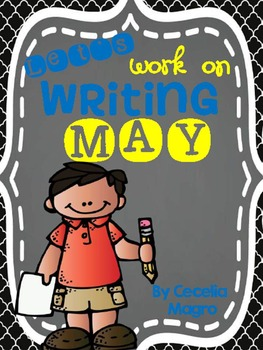 Let's Work on Writing - May - Monthly Themed Writing