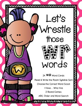 Let's Wrestle Those WR Words