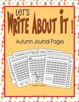 Let's Write About It - Autumn - Creative Writing
