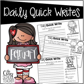 Daily Quick Writes {February}