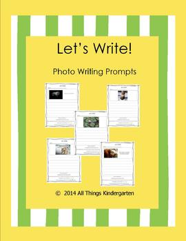 Let's Write! Photo Writing Prompt Set.