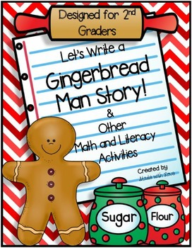 Let's Write a Gingerbread Man Story and Other Math & Liter
