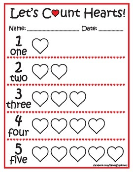 Let's count hearts! 1-10