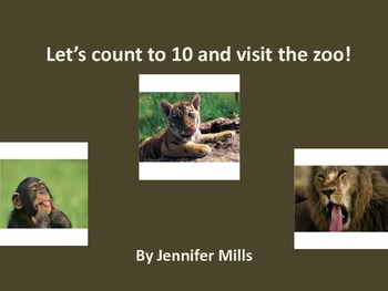 Let's count to 10 and visit the zoo!