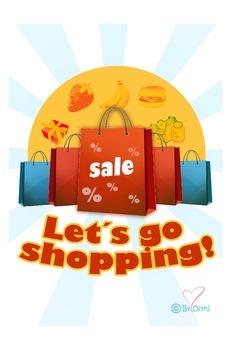 Let´s go  shopping