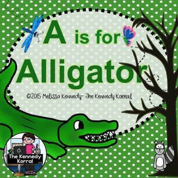 Letter A is for Alligator