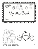 Letter Aa Book (emergent reader)