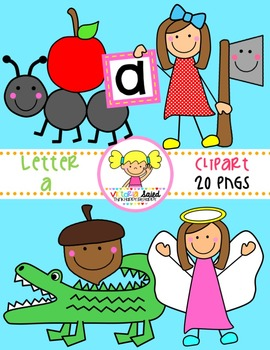 Letter Aa Clipart