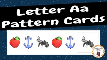 Patterns: Letter Aa Pattern Cards