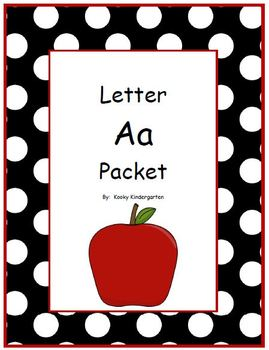 Letter Aa Phonics and Writing Pack