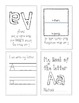 Letter Activities: Class and Individual Letter Books