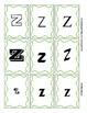 Letter Alphabet Font Sorting - B P Y Z - File Folder Game