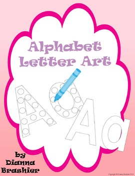 Alphabet Letter Art Activities
