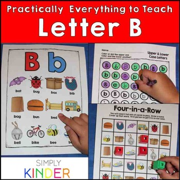 Letter B | Alphabet Printables and Centers