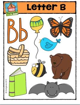 Letter B - Alphabet Pictures {P4 Clips Trioriginals Digita