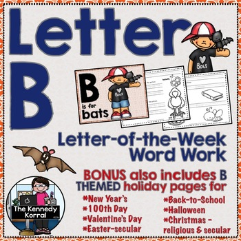 Letter B is for Bats