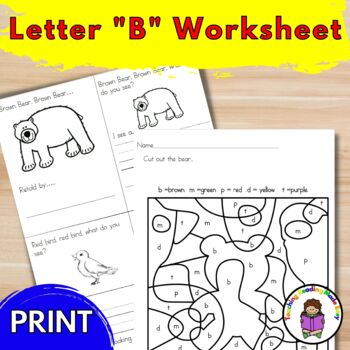 Letter B Lesson Plans - Letter of the Week!