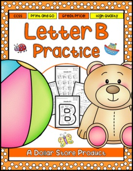 Letter B Practice Printables