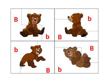Letter B Puzzle
