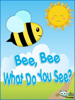 """Letter B Story """"Bee Bee What Do You See?"""""""