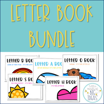 Alphabet Handwriting Book Bundle