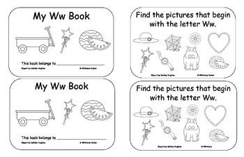 Letter Books T, V, W