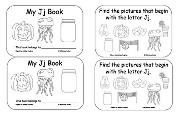 Letter Books for J, K, L