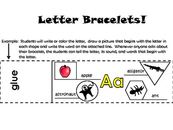 Letter Bracelets!