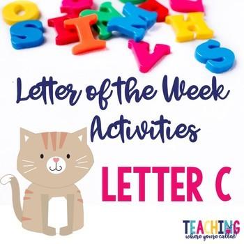 Letter Cc Activity Pack