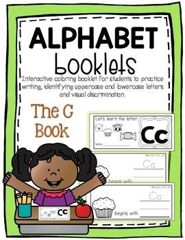 Letter C Book