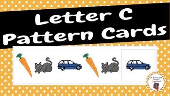 Patterns: Letter C Pattern Cards