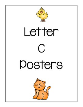 Letter C Posters