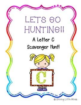 Letter C Scavenger Hunt