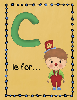Letter C Story and Writing Practice