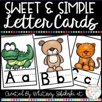 Letter Cards- Sweet & Simple