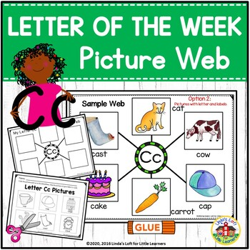 Letter Cc Beginning Sound Picture Web Activity