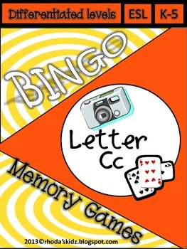 Letter C Bingo