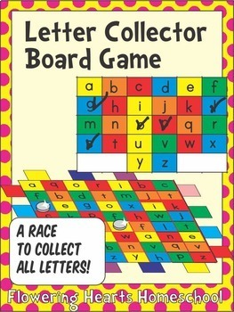 Letter Collector Board Game
