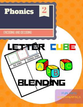 Segmenting & Phonemic Awareness Cubes (Decoding CVC Words)