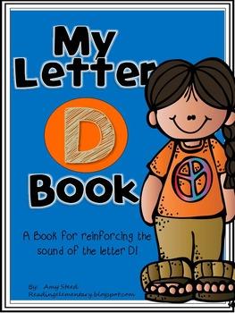 Letter D Book of Beginning Sounds-Emergent Reader w/Runnin