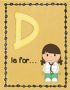 Letter D Story and Writing Practice