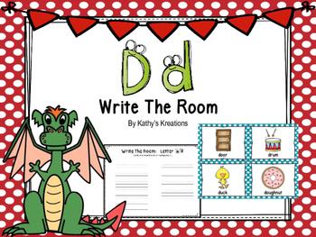 Letter D Write The Room