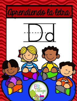In Spanish {Letter D / La letra D}