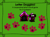 Letter Doggies! A cooperative letter sound game